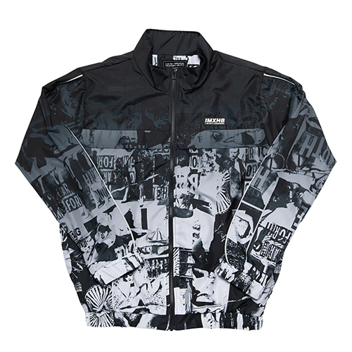 TORN PICTURES TRACK JACKET - O/C