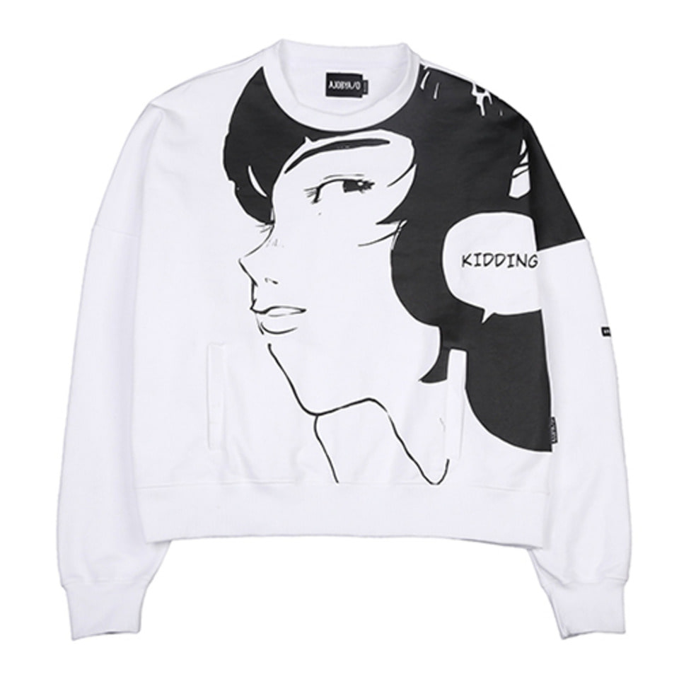 [AJOBYAJO] Manga Heavy Sweat Shirt  [White]