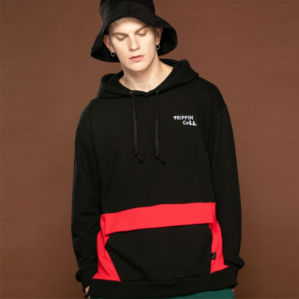 [Trippin CeLL] A-rock Hoodie (red)