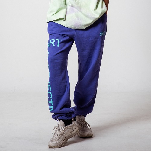 [OBJECT] ART IS OBJECTIVE SWEATPANTS - PURPLE
